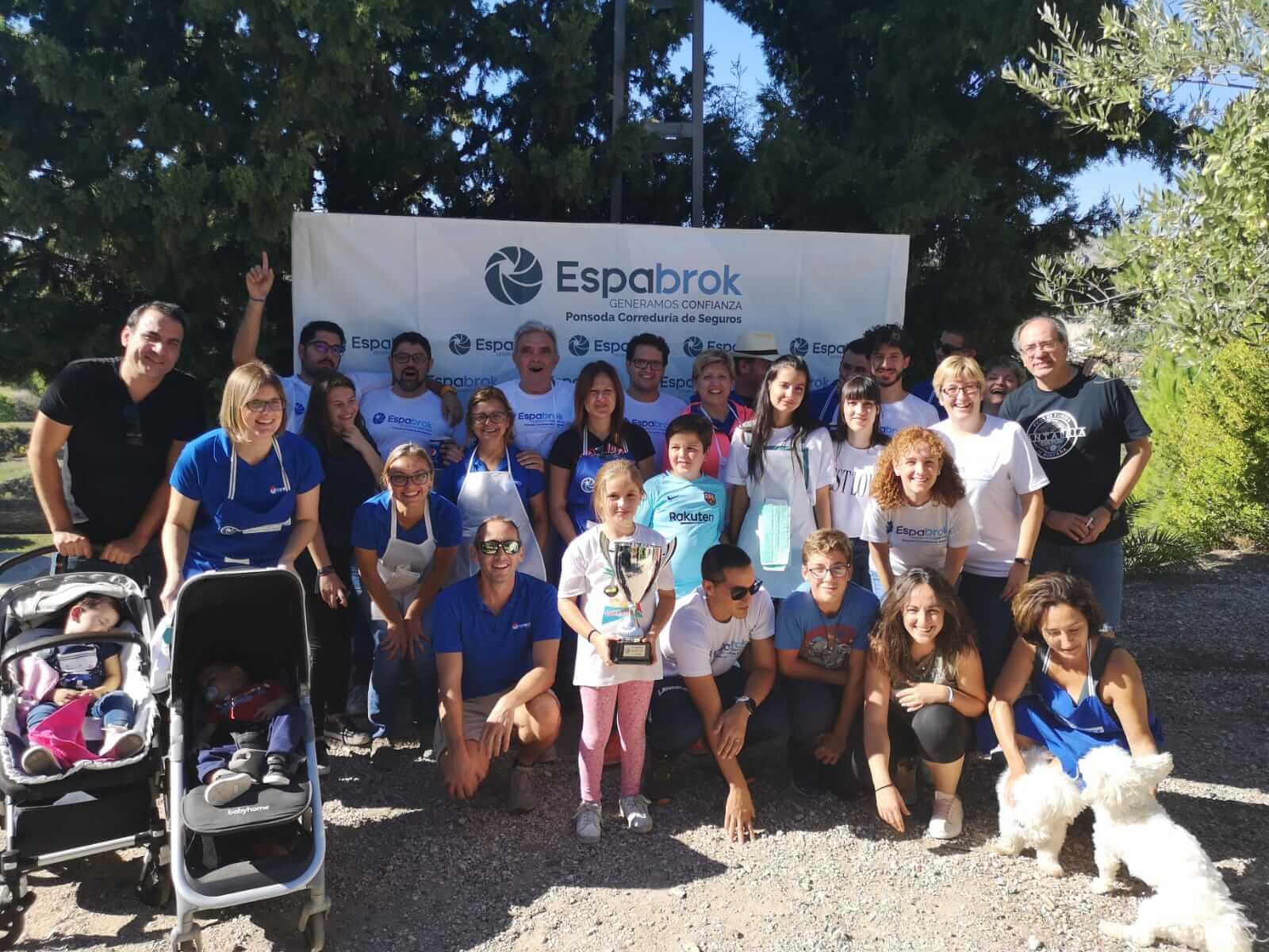 Día lúdico de Seguros Ponsoda en la masia El Pinaret